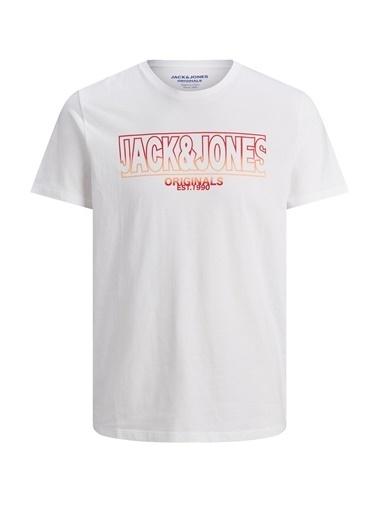 Jack & Jones Tişört Beyaz